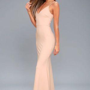 Lulu's Infinite Glory Dress (Blush)